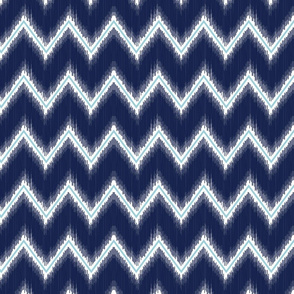 Ikat_Chevron_Navy