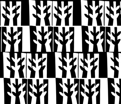 randiantonsen_leaf fabric by randi_antonsen on Spoonflower - custom fabric