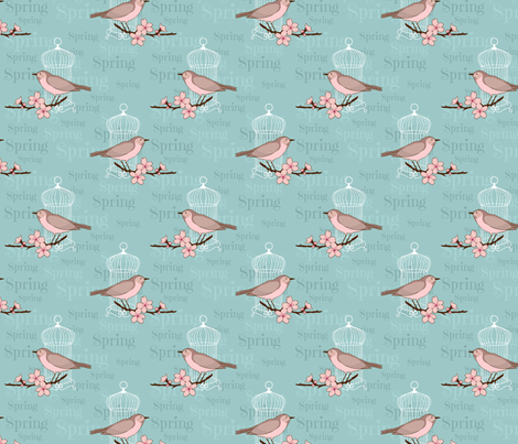 spring_ fabric by mixcelanea on Spoonflower - custom fabric