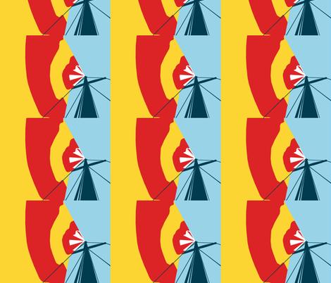 Sailing Away fabric by ninka on Spoonflower - custom fabric