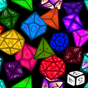 Gamer Dice (Large Scale)