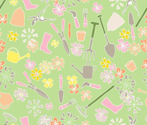 tools1 fabric by karinka on Spoonflower - custom fabric