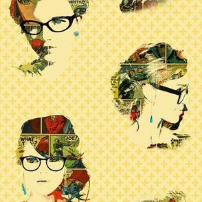 Tres chic, tres geek (visages mixtes)