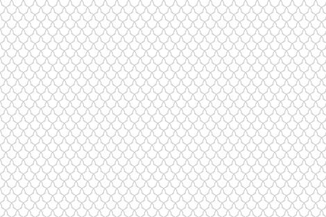 Lattice in Grey and White fabric by jennamhairi on Spoonflower - custom fabric