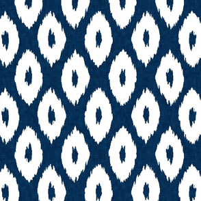 Ikat_Polka_Dot_Navy