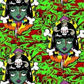 Colorful Zombie