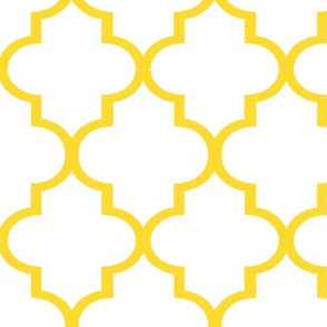 Lemon Quatrefoil