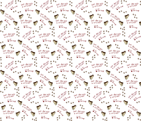 Get the Sled fabric by ravynscache on Spoonflower - custom fabric
