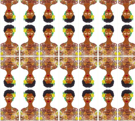 keep_praying fabric by algebraworks on Spoonflower - custom fabric