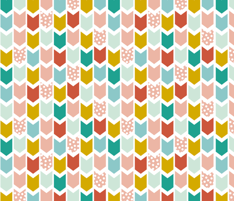 PastelChevron fabric by mrshervi on Spoonflower - custom fabric