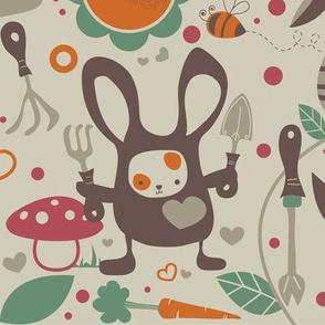 SpringtimeBunny_GARDEN TOOLS