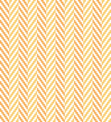 Aztec_Chevron_Mango fabric by crisbucknall on Spoonflower - custom fabric
