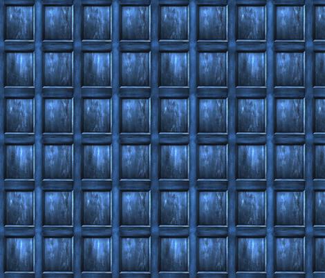 "BLUE BOX Wood Light  5"" Panels fabric by bjornonsaturday on Spoonflower - custom fabric"