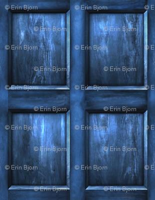 BLUE BOX  Wood Light - MEDIUM SCALE