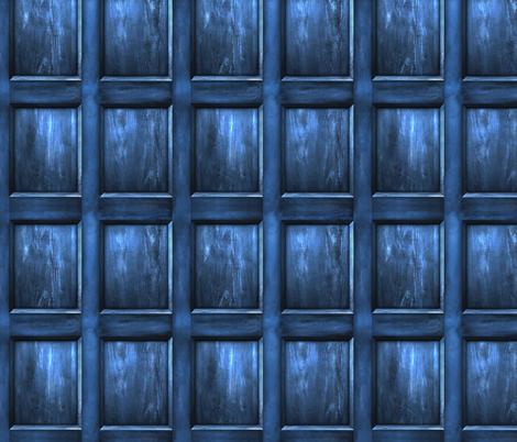 BLUE BOX  Wood Light - MEDIUM SCALE fabric by bjornonsaturday on Spoonflower - custom fabric
