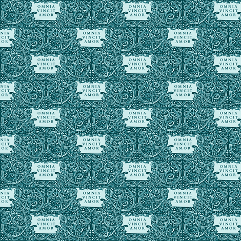 Love Conquers All fabric by amyvail on Spoonflower - custom fabric
