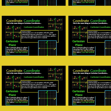 coordinate_plane algebra works fabric by algebraworks on Spoonflower - custom fabric