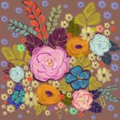 Folksy Floral Garden