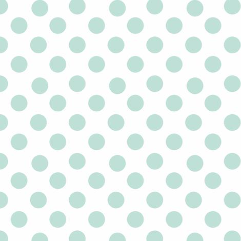 Garden in the Rain Polka Dots fabric by karenharveycox on Spoonflower - custom fabric