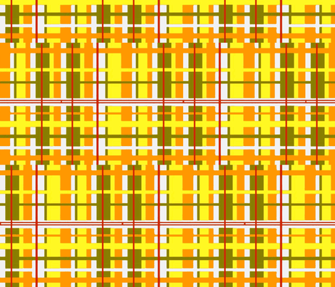 sunshine plaid fabric by bettieblue_designs on Spoonflower - custom fabric