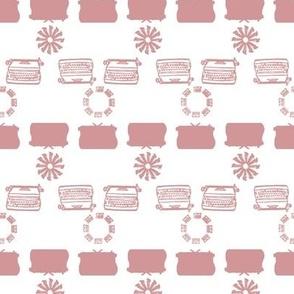 typewriter_stripe_4_objects_pink
