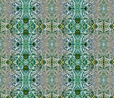 Ocean Vibrations  fabric by hrhsf-designs on Spoonflower - custom fabric