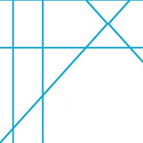 blue Geometric large