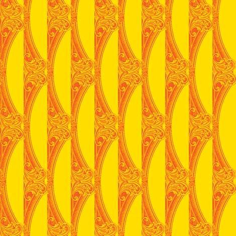 Lemon Garnish fabric by amyvail on Spoonflower - custom fabric