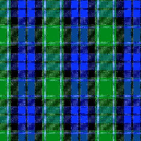Graham of Menteith clan tartan (modern colors) fabric by weavingmajor on Spoonflower - custom fabric