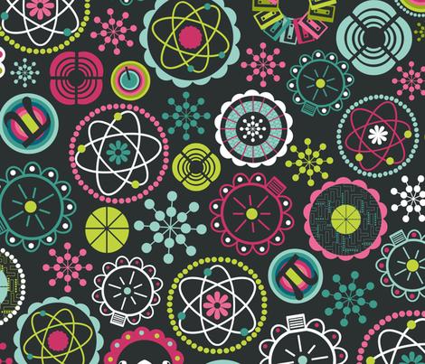 Galaxy Garden fabric by natitys on Spoonflower - custom fabric