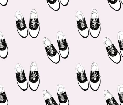Dancing Shoes fabric by abbyg on Spoonflower - custom fabric