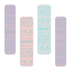 Pastel Aztec Tribal Patterns