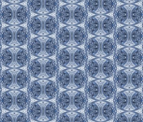 Saranac Winter IV - Snow fabric by relative_of_otis on Spoonflower - custom fabric