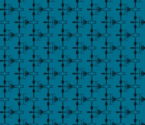 Street Light Infinitum IIa fabric by relative_of_otis on Spoonflower - custom fabric