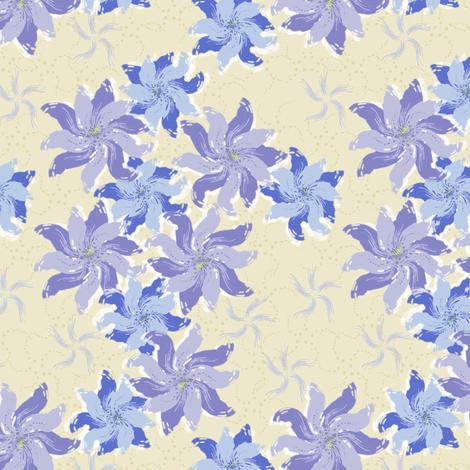 Twilight Garden fabric by jjtrends on Spoonflower - custom fabric