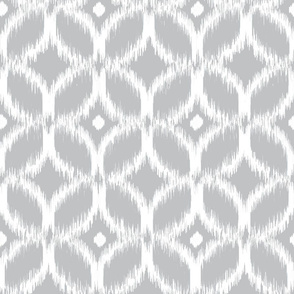 Ikat Overlapping Ovals