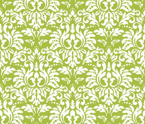 Apple_Damask_ll fabric by kelly_a on Spoonflower - custom fabric