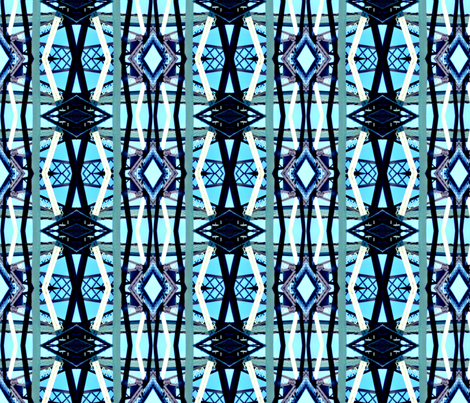 Infrastructure Lattice fabric by relative_of_otis on Spoonflower - custom fabric