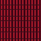 Queen of Hearts Pinstripe