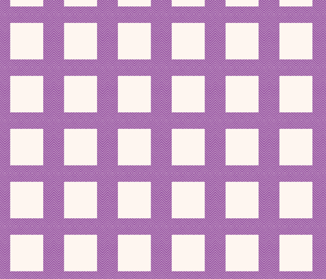 chevron_frame mini cheater quilt fabric by dsa_designs on Spoonflower - custom fabric