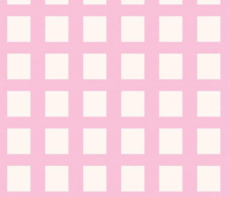 chevron_pink mini cheater quilt  fabric by dsa_designs on Spoonflower - custom fabric