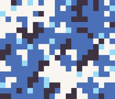 Dual Tex Blue fabric by ricraynor on Spoonflower - custom fabric