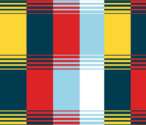 Bold Blocks Blanket Design fabric by elramsay on Spoonflower - custom fabric