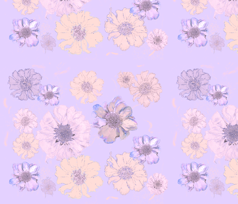 lilacflowers fabric by snap-dragon on Spoonflower - custom fabric