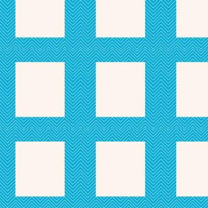 chevron_cheater quilt frame