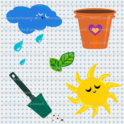 The Six Best! - Garden Tools - © PinkSodaPop 4ComputerHeaven.com