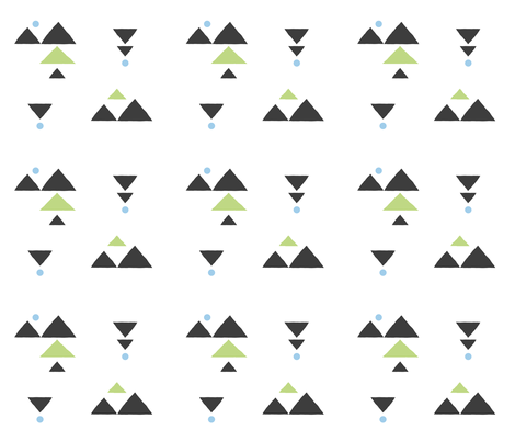 mountains fabric by arudat on Spoonflower - custom fabric