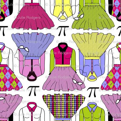 Geek Chic dress coordinating