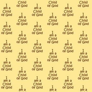 child of God brown