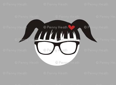 Pigtail Polka Punk Geek